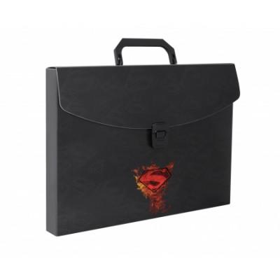 "Портфель-бокс на застібці ""Superman"", А4+"