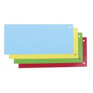 Розподілювальні смуги картонні, 200г/м2, 240х105мм, 100 шт., асо