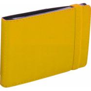 Визитниця карманная на резинке, 20 визиток, Vivella, желтая O51615-05