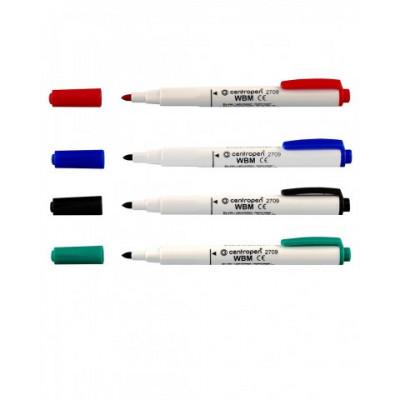 маркер д/досок, 1,8-3,8мм,зелен ,кругл.остр.,спирт.осн.,2709