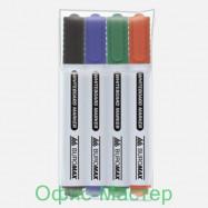 Комплект из 4 маркеров для магнитных досок