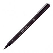 Ручка лайнер 0,1мм Uni Pin черный