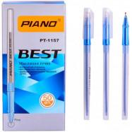 "PT-1157 ручка масл ""Piano"" син"