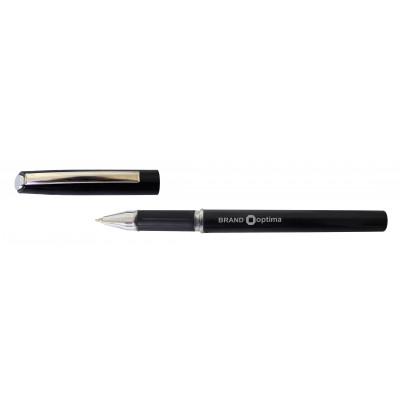 Ручка масляна OPTIMA BRAND 07 мм, пише чорним