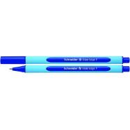 Ручка масляна SCHNEIDER  SLIDER EDGE (товщина F-тонка), пише синім