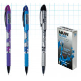 ручка шар., маслян., 0.7мм, GLIDEX, WIN фиол.