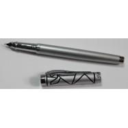 "3842(206A) ручки перо ""Серебро Узор"""