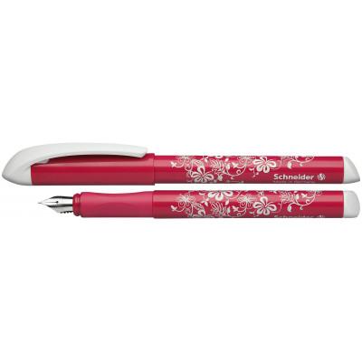 Ручка перова SCHNEIDER  FANTAZY, роз/бел