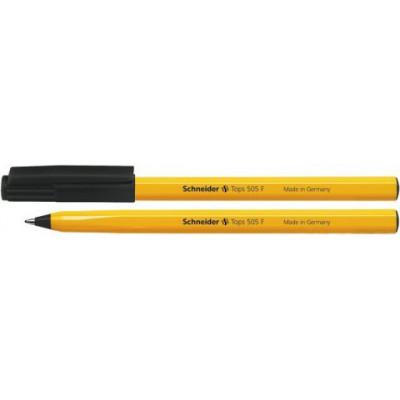 """Ручка шариковая """"Schneider""""  TOPS505F черная"""