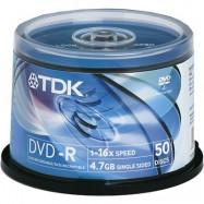 Носії інформації TDK DVD+RW 4,7Gb 16x Cake 10 pcs