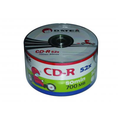 Носії інформації PHILIPS CD-R 700MB 80min 52x Bulk 50 pcs