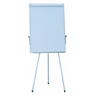 Флипчарт магн. для письма маркером, на триноге JOBMAX, 70х100cм, ал. рамка BM0011