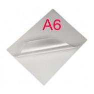 Плівка ламінуаційна 80мк A6 (111*154мм) , (100шт/кор)