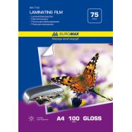 Пленка для ламинирования А4, 75мкм (216x303мм), 100 шт.
