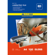 Пленка для ламинирования А4, 80мкм (216x303мм),