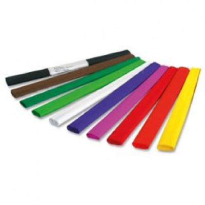 Папір кольоровий крепований (бузковий) 500*2000мм