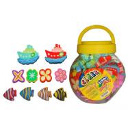 "Ластик CLASS ""Mix toys"", в пластик. банке, 4978"