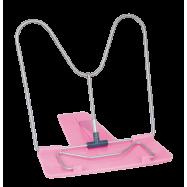 Подставка для учебников, розовая