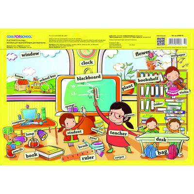 """Килимок для дитячої творчості """"В школі"""", англійська серія"""