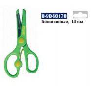 Ножицы детские, 12,6 см с линейкой 5 см, ERGO, 4286, CLASS