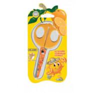Ножницы детские 13,5см с фигурными лезвиями для апликации, волна