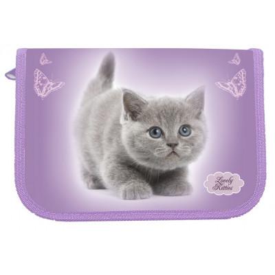 "пенал 1-яр.,пустой с 1 отв.,""Lovely Kitty"", 210/230D Nylon,94021, CLASS"