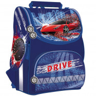 """JO-1526 Рюкзак коробка """"Drive"""" 13,5'' 3 від., ортоп світловідб"""