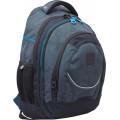 """Рюкзак подростковый Т-14 """"Carbon"""", 46,5*33*15см."""