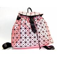 "6224-16 Рюкзак молодежный ""Stylish"", розовый, 32x34x12см"