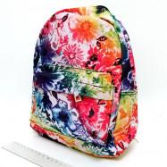 "DSCN0582-S-3 Рюкзак с карманом ""Нежность"" 27х21х9см (0582-5)"