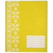 ФОН А5 12лінія  POLISVIT Єко-2 (жовт) зошит учнівський