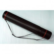 JL-HT-606 Тубус для чертежей D- 10,5  (60-110) см (черный)