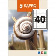 Бумага самокл. S2033 Sapro 52,5*29,7 (40) 100 л.