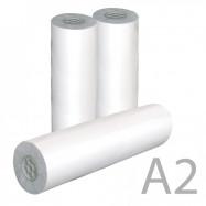 Папір А2 рулон(420мм*50 м*80 гр/м2)