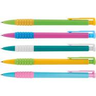 Ручка шар. автом. ECONOMIX, MERCURY 0,5 мм.асорти, синяя
