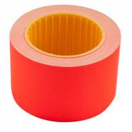 Цінник 35*25мм (240шт, 6м), прямокутний, зовнішня намотка, червоний