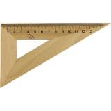 Треугольник деревянный 16 см 30x60 1х100,