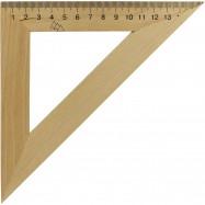 Треугольник деревянный 16 см 45х45 1х100,