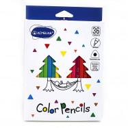 "9402-36 Набор карандашей цв. треугольн. ""Acmeliae"" ""Профи-Арт""36цв, в картоне, пласт.подлож."