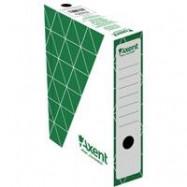 Бокс архивный 150мм, зеленый