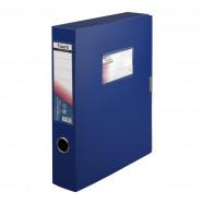 Папка-коробка 60 мм, синяя