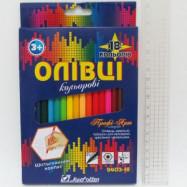 """Карандаши цветные 18цв J. Otten """"Профи-Арт"""" шестигр."""