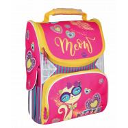 """Рюкзак шкільний каркасний 13,4"""", """"Meow"""" 701, CF86190"""