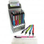 "PB-165 ручка шариковая автомат.  ""Piano"" син(PT)"