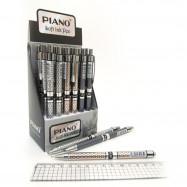 "PS-007 Ручка масло автомат. ""Piano"" синяя"