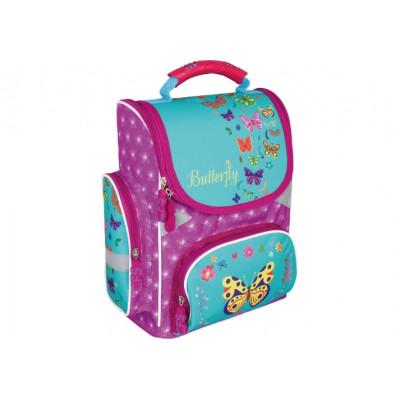 """Рюкзак шкільний каркасний 13,4"""", """"Butterfly"""" 702, CF86194"""