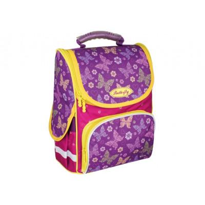 """Рюкзак шкільний каркасний 13,4"""", """"Cute Butterflies"""" 703, CF86171"""