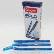 """Ручка масл. Goldex """"Polo grip Fashion #422 Индия Blue 1,0мм с грипом"""