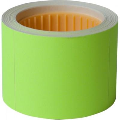 Ценник 50*40мм,  (100шт, 4м), прямоугол, внешняя намотка, желтый