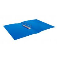 Папка пласт. с 2-мя кольцами, А4 (25мм), JOBMAX, синий